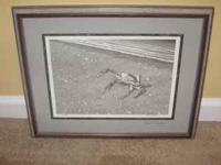 "Ken Schuler framed print ""Low Tide Encounter"" print"