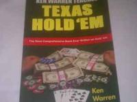 Ken Warren Teaches Texas Hold Em This is a big 416 page