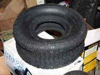 Lawn and Garden Tractor Tubeless Replacement Turf Tire