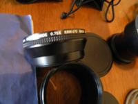 Kenko KRW Wide angle lens with bag in very good
