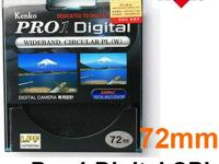 72mm Kenko PRO1 Digital Wide Band Circular PL (W)