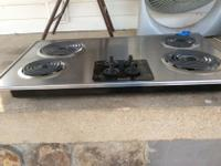 Stainless electric cooktop, pd $400 at sears for it and