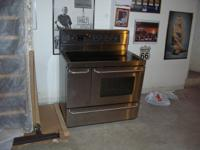 "40"" large, two ovens, two years of ages, can not fit in"