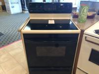 Kenmore Black & Bisque Smooth Top Range Stove Oven -