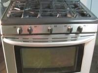 I have a nice Stainless Steel Kenmore Elite Dual Fuel