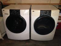 Kenmore elite front load washer and dryer matching set,