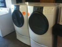 Kenmore Elite He3 Front Load Washer Dryer Set