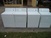 MATCHING KENMORE ELITE WASHER AND DRYER SETS FOR $385.