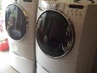 This washer and dryer are a couple years old but were