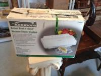 This Kenmore Food Saver like new in the original