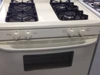 GOOD CONDITION!!  Kenmore gas stove-bisque  Delivery
