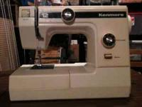 Kenmore Sewing Machine in cabinet - $20 Near Mercy