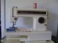 This Kenmore 8 Stitch machine has just been cleaned,