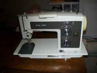 I have a beautiful sewing machine and cabinet for sale.