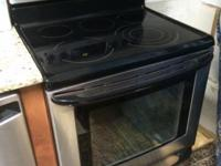 Kenmore Stainless Steel Electric Range-Convection Oven