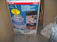 Kenmore 5 way cleaning system with shampooer and