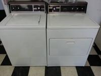 Used Kenmore washer and matching electric dryer.