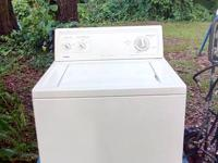 KENMORE WASHER.  incredibly capability plus. all cold