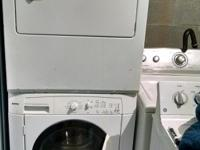 Kenmore washer w/Frigidaire clothes dryer stackable