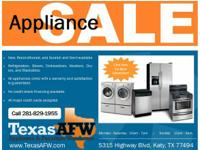 We have deeply discounted  furniture and appliances at