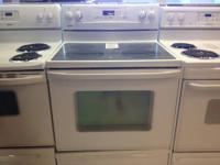 Kenmore Electric Freestanding Range Color: White Smooth