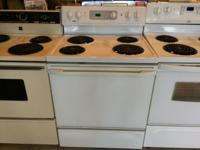 "Kenmore White Range Stove Oven - USED Freestanding 30"""