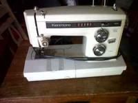 Sears Kenmore Sewing Machine with kit Works fine Model