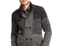 This double-breasted cardigan from Kenneth Cole New