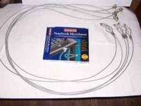 Model 64068, 6' long cables, with keys, total of 6,