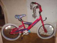 "Here is a KENT "" Girl Stuff "" ... 18"" bike for your"