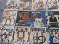 Kentucky Basketball yearbooks 98-99 to current. In very