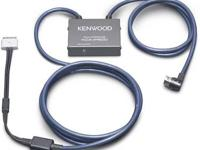 PHONE: The Kenwood KCA-iP500 interface charges your