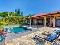 This rare property is located on (3) acres in Keopu