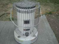 Very good condition kerosene space heater--use to heat