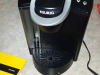 This is a used Keurig B40 Elite home brewer for use