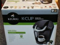 Lightly used Keurig K40. It's in wonderful condition