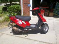 This is 49cc Key West scooter that has severed me well