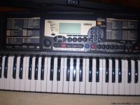 Bought this Yamaha PSR-225, along with its Kima