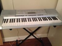 KEYBOARD CASIO CTK 4000,PERFECT CONDITION , FULL