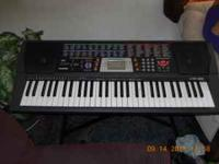 I have a realy nice casio CTK-518 keyboard with 100