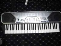 nice keyboard, hardly used, comes with stand. Call