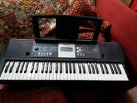 I have a keyboard yamaha ypt-230 61 essential keyboard