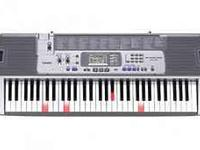 Its a Casio Keyboard with key lighting system. will