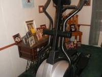Keys 835D Elliptical and a Total Gym 1000 both in good