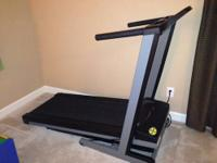 This is a high quality, yet compact, treadmill that's