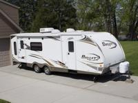 Adult-owned and well-kept Keystone Bullet 278RLS travel