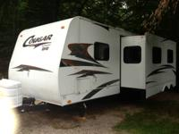 Keystone cougar extra-light 29 foot bunkhouse polar