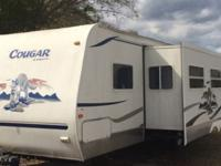 2005 keystone cougar Super slide 2 private bedrooms