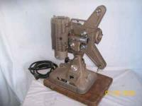 Very nice Keystone 8mm projector in very good