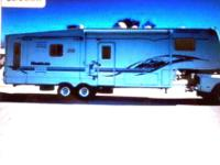 2002 5TH WHEEL KEYSTONE MONTANA 3280RL MODEL, 32.8